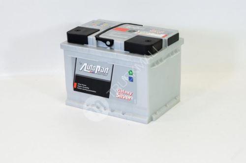 Autobaterie Galaxy Silver 50Ah 480A EN
