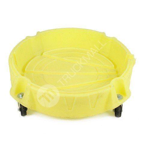 Pojízdná záchytná miska, žlutá
