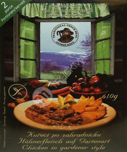 Ster.jídlo kuře po zahradnicku 2porce