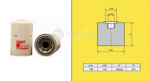 filtr olejový DAF 75CF