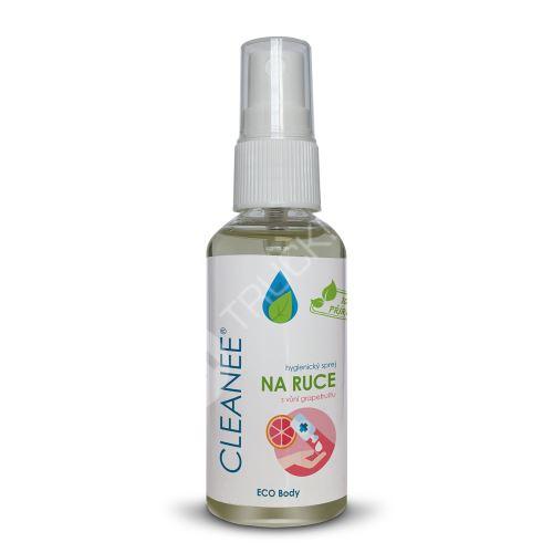 CLEANEE ECO hygienický sprej na ruce s vůní GRAPEFRUITU 50 ml
