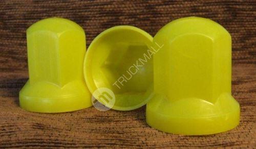 Kryt šroubů kol - žlutá