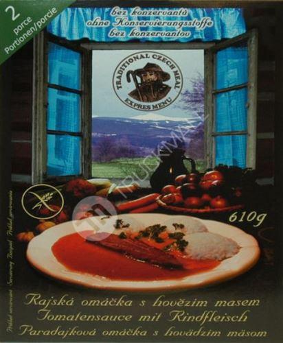 Ster.jídlo rajská 2porce