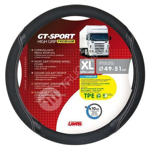 Potah na volant 49-51cm černý GT-Premium