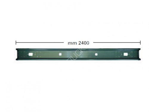nárazník zadní-2400mm-návěs,vlek-šedý