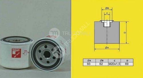 filtr olejový Renault /převodovky/