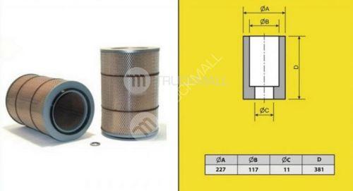 filtr vzduchový MERCEDES 814,1117,MAN