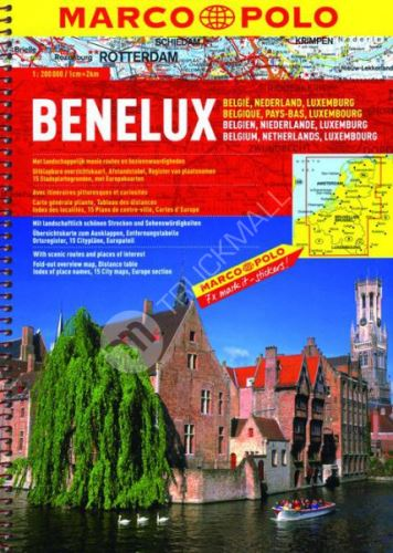 Sešitový atlas Benelux