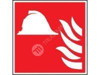 Tabulka - Požární zbrojnice 20 x 20 cm