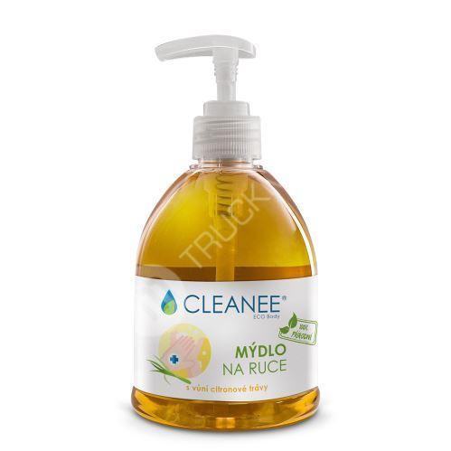CLEANEE ECO Body 100% přírodní mýdlo na ruce s vůní citronové trávy 500ml