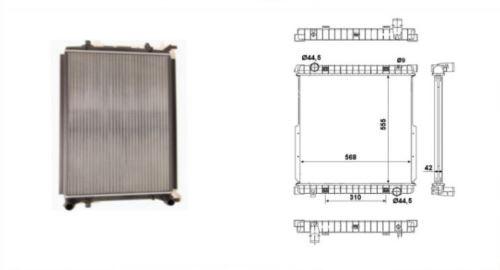 chladič vody IVECO ECARGO-TECTOR