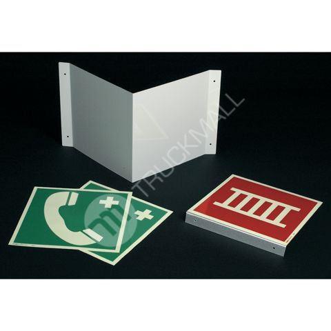 Tabulka praporková - čtverec (na stěnu) 20 x 20 cm