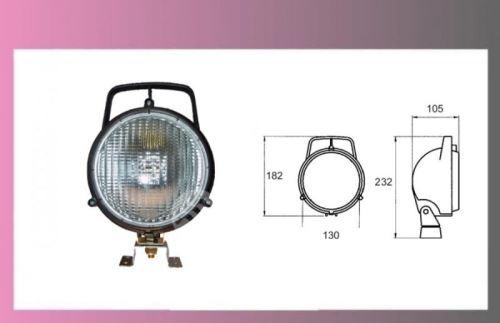 reflektor pracovní H3-12/24V-+držák