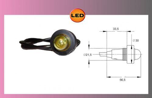 LED-MONOPOINT I,bílé 24V+ kabel