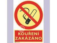 Tabulka - Kouření zakázáno 21 x 29,7 cm