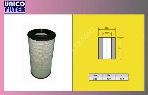 filtr vzduchový MERCEDES ACTROS-mix-