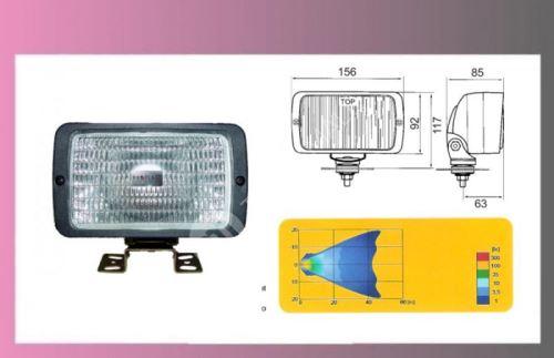 reflektor prac.H3-12/24V-ADR-156X92
