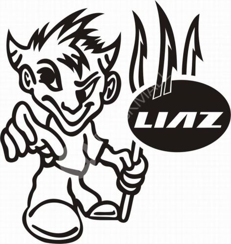 samolepka LIAZ 629