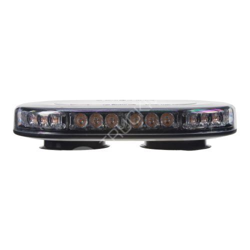 SLIM rampa oranžová, 30LEDx3W, magnet, 12-24V, 250mm, ECE R65 R10