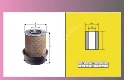 filtr vzduchový MERCEDES 2536