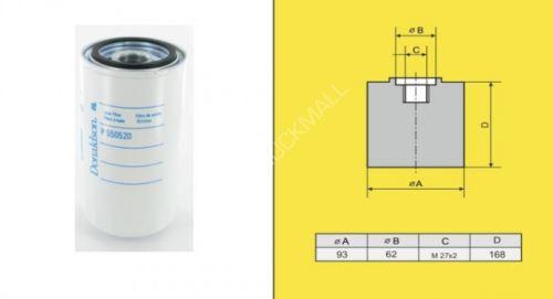 filtr olejový DAF 45LF,IVECO,CUMMINS