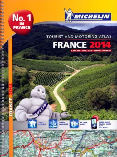 Atlas  Francie 1 : 200 000