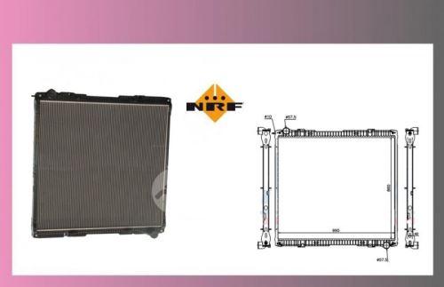 chladič vody SCANIA 124-R-bez rámu