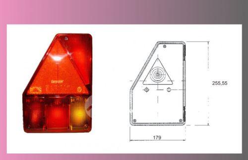 kryt lampy EARPOINT-levý -+mlhovka