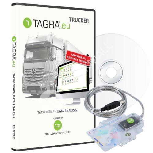 SW TAGRA.eu TRUCKER + čtečka čipových karet