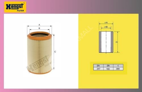 filtr vzduchový DAF 45LF 07-