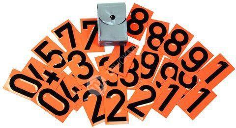 Sada čísel pro tabulky ADR