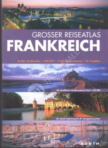 Sešitový atlas Francie 1 : 300 000