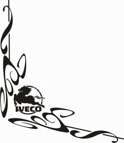 samolepka Dekor IVECO 092