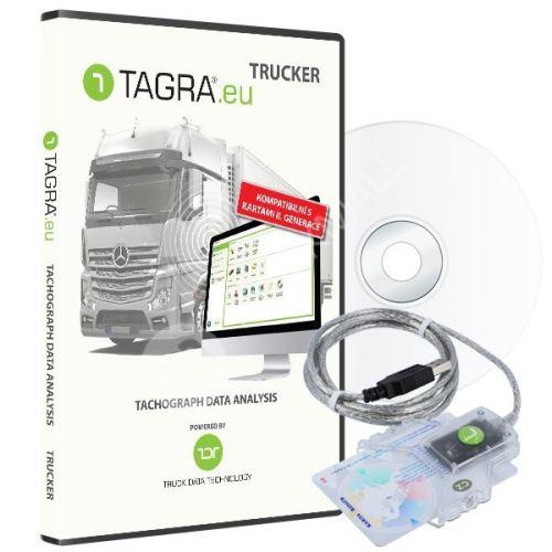 SW TAGRA.eu TRUCKER + čtečka čipových karet - 10 ks