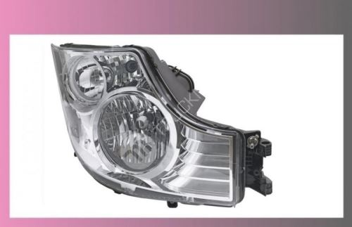 světlomet hlavní MB ACTROS MP-IV,-levý-manuál.ovládaný