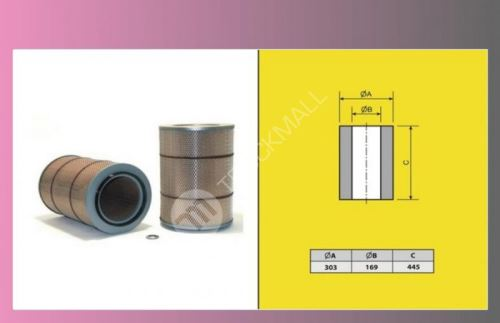 filtr vzduchový SCANIA 124 LA-M-FILTER