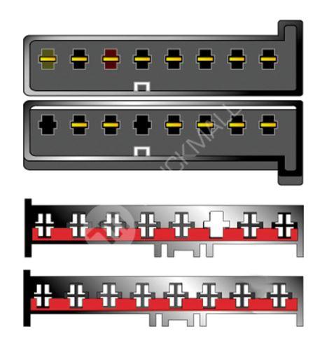Kabeláž pro HF PARROT/OEM Ford -2001, Jaguar S (8+8pól)