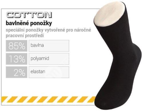 Bavlněné funkční ponožky