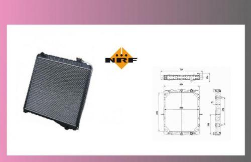 chladič vody DAF 45LF/55LF-bez rámu NRF