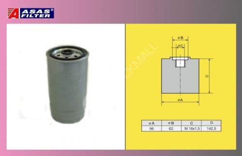 filtr naftový DAF 95XF-ASAS