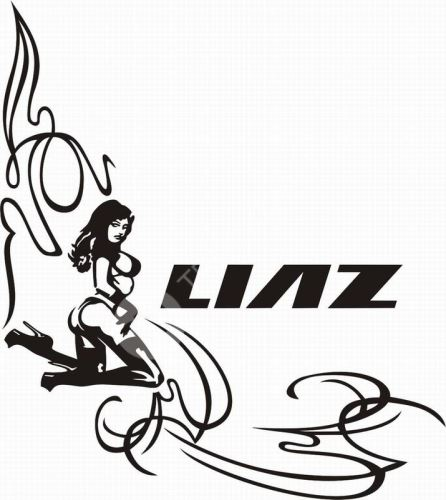 samolepka LIAZ 624