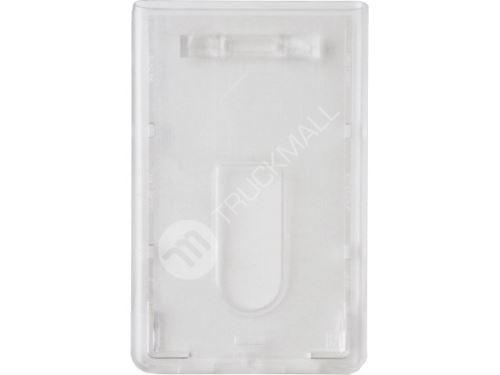 Visačka na výšku - tvrdý plast - transparentní
