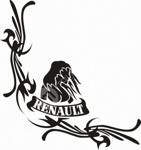 samolepka RENAULT 473