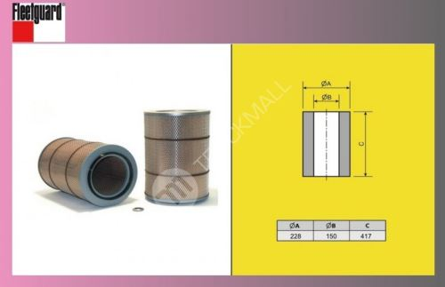 filtr vzduchový MAN-TGL-EURO 4,5-FLEET