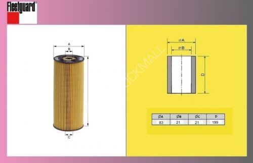 filtr olejový MB OM366A