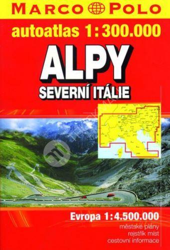Sešitový atlas Alpy a severní Itálie