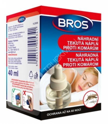 BROS - náplň odpuzovače komárů