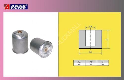 filtr odstřed.DAF EURO3-ASAS