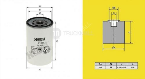filtr olejový RENAULT MIDLUM