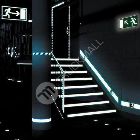 Tabulka - Úniková cesta pro vozíčkáře doleva 40 x 20 cm